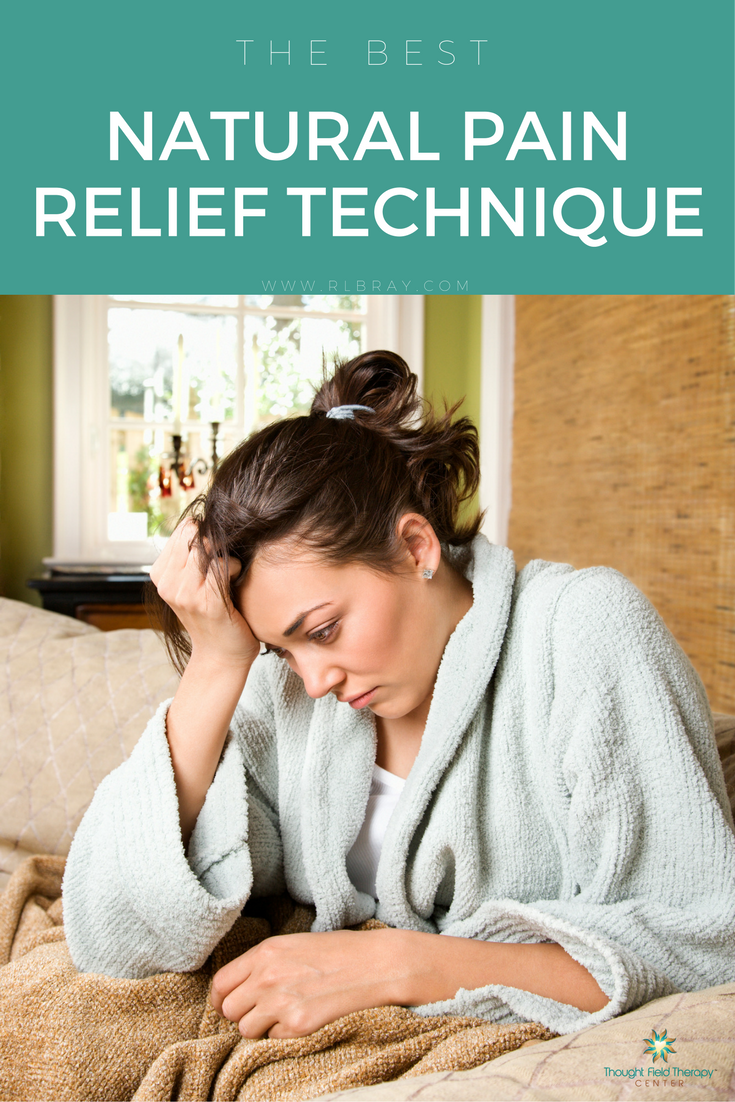 The Best Natural Pain Relief Technique, Relieve chronic pain naturally, Callahan Techniques Thought Field Therapy Tapping, pain relief, natural pain relief after surgery, natural muscle pain relief, natural pain relief for arthritis
