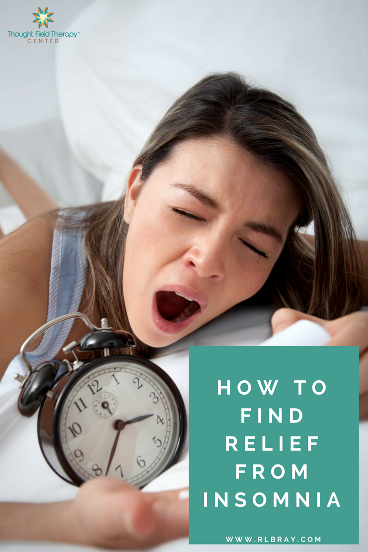 Natural ways to relieve insomnia, Get help going to sleep, Callahan Techniques Thought Field Therapy Tapping, how to fall asleep
